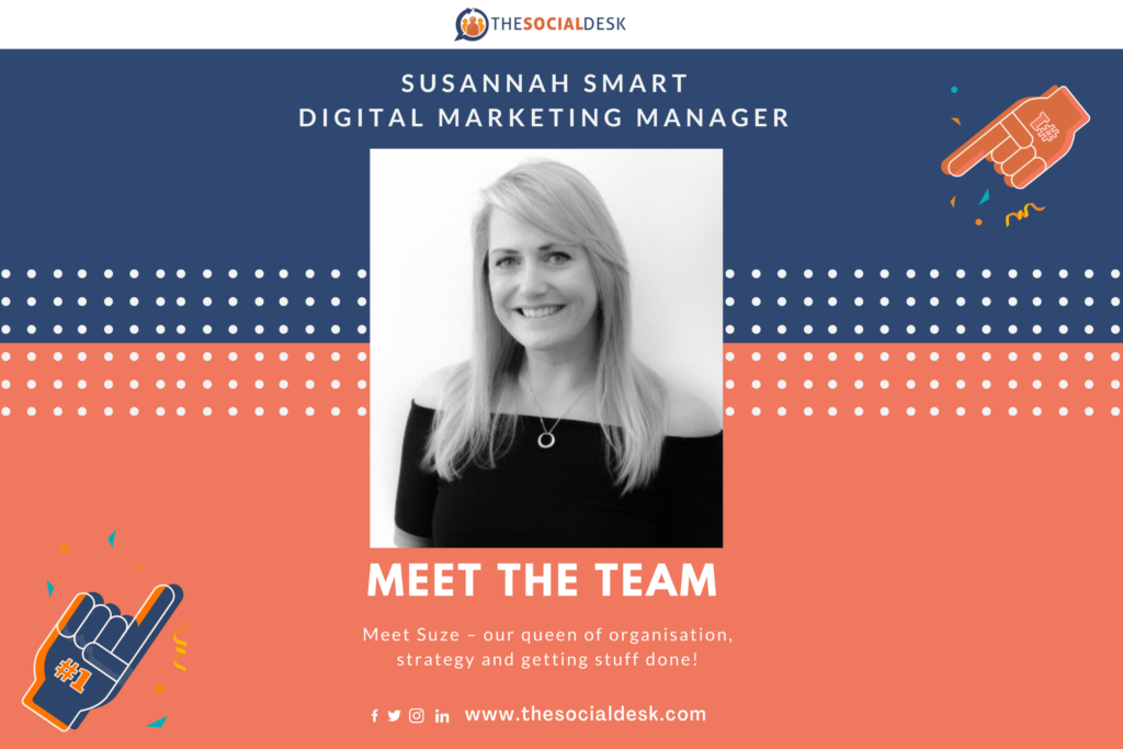 Picture showing Digital Marketing Manager Susannah Smart